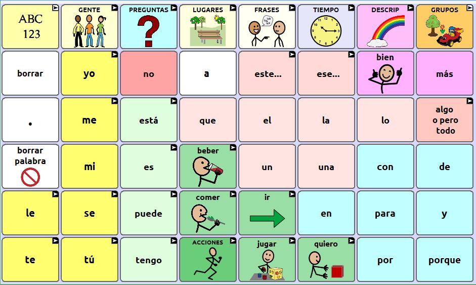 Standard Vocabulary Files Saltillo